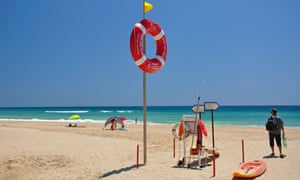 Praia de Salema, Salema,  Algarve.