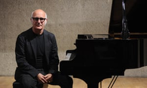 Top of the streaming charts … Italian pianist Ludovico Einaudi .