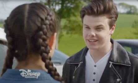 Evenyungerblud … Dominic Harrison as Oz in the Disney Channel's The Lodge.