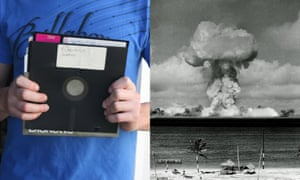 US nuclear arsenal controlled by 1970s computers with 8in