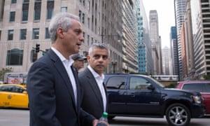 Rahm Emanuel and Sadiq Khan