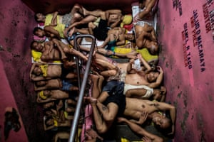 General news – singles, third prize A scene inside Quezon City jail, one of the Philippines' most overcrowded prisons