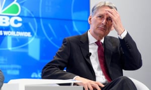 Philip Hammond was forced to issue a fudging statement in apology.