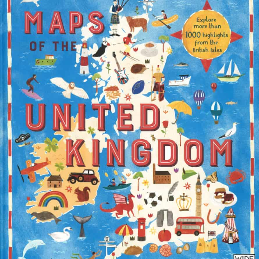 Maps of the UK cover