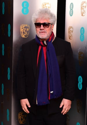 Pedro Almodovar attending the after show party