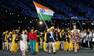 Madhura Nagendra at the Olympics