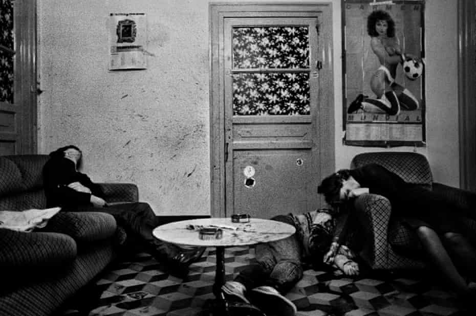 Murdered … a sex worker and two of her friends in Palermo, 1982.