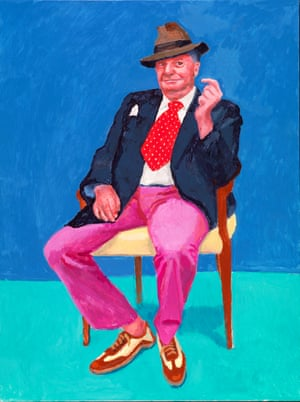 David Hockney's Barry Humphries, 26-28 March