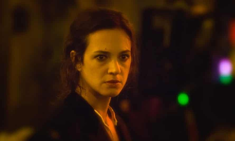 Asia Argento as artist Isidora in Agony.