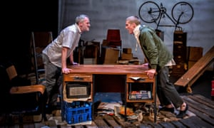 Deft interplay … Jack Lord and Dan Parr in Kes at the West Yorkshire Playhouse. Photograph: Anthony Robling