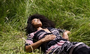 Musician Lianne La Havas photographed in Brockwell Park, south London.