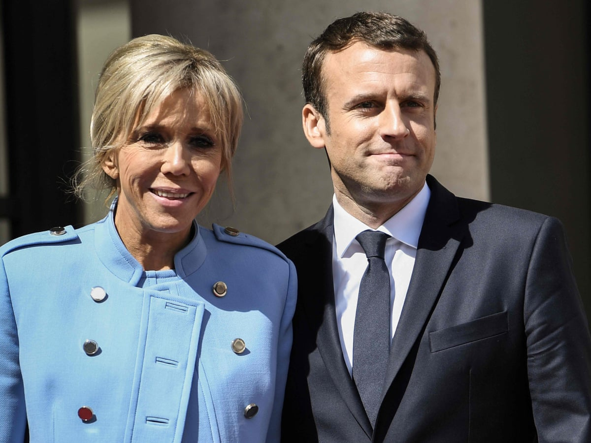 It Isn T Wrong To Raise An Eyebrow At How The Macrons Got Together Fashion The Guardian