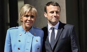 Vive la age difference! Brigitte and Emmanuel Macron.