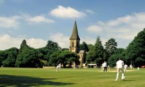 Cricket whites … deeply English