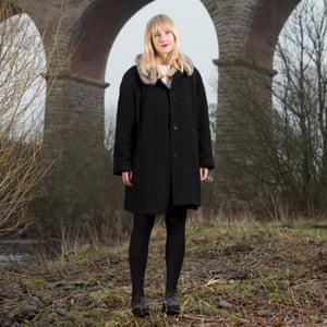 Jessica Andrews at Newton Cap Viaduct in Bishop Auckland, County Durham.