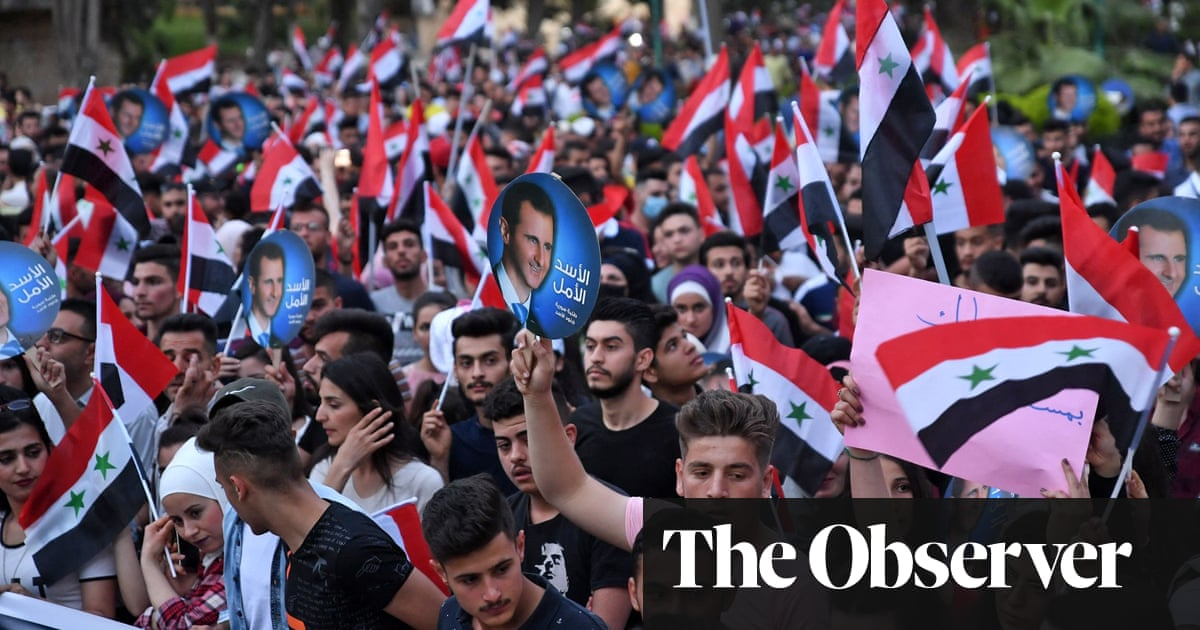 Civil war, ruin, raging poverty… but Assad is guaranteed to win Syria's fake election