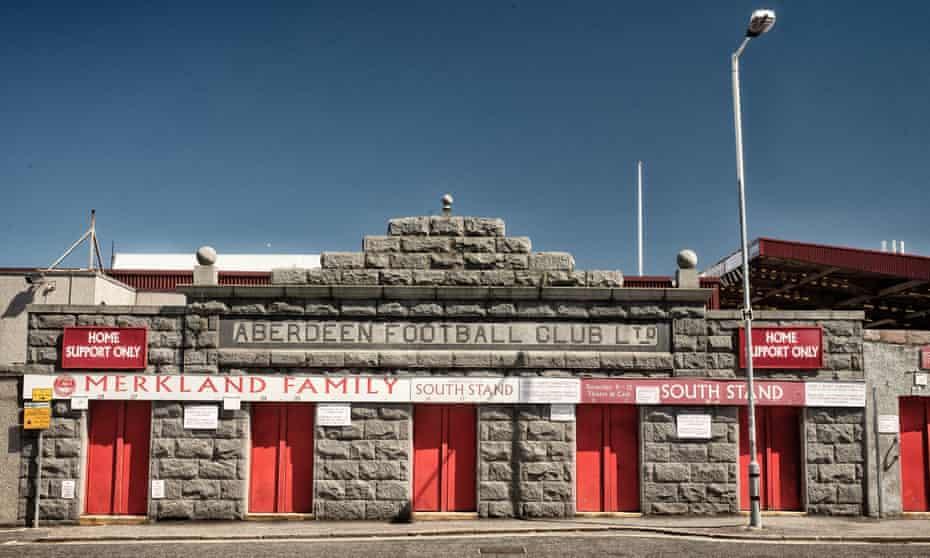 Aberdeen's ground, Pittodrie Stadium