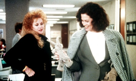 Melanie Griffith and Sigourney Weaver in Working Girl