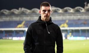 England footballer Declan Rice