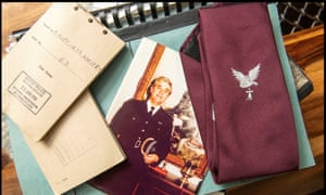 DCS Steve Whitby's records and tie from Operation Countryman