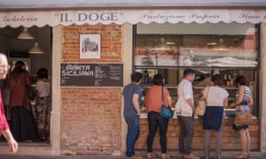 Gelateria Il Doge, Venice, Italy.