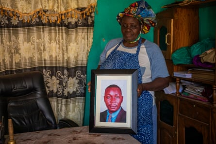 Eric Mutasiga's mother, Joyce Namugalu
