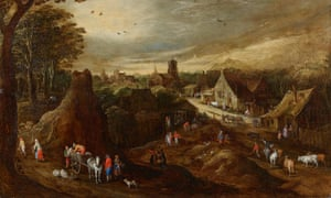Autumn, 1605-1610, Jan Brueghel the Elder (1568-1625) (workshop of) and Joos de Momper the younger (1564-1635)
