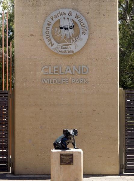 Cleland Wildlife Park South Australia.
