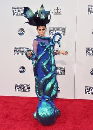 <strong>Sea Saw</strong> Z LaLa in an octopus dress.