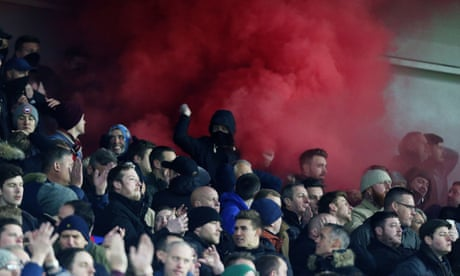 Crystal Palace fans get police apology over claim they took weapons to Brighton