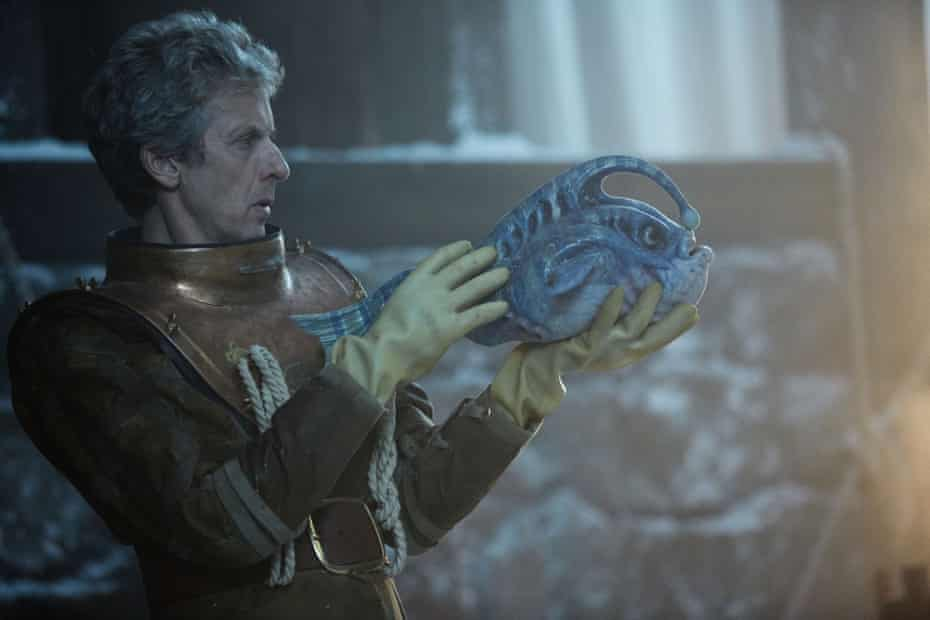 The Doctor and new friend.
