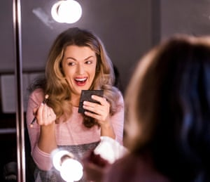 Claudia Boyle in her dressing room