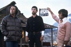 De Niro on set
