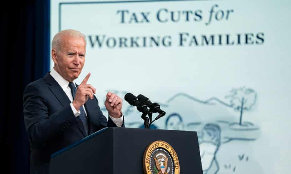 Joe Biden speaks on child tax credit