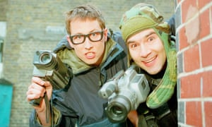 Joe Cornish, left, and Adam Buxton in The Adam and Joe Show.