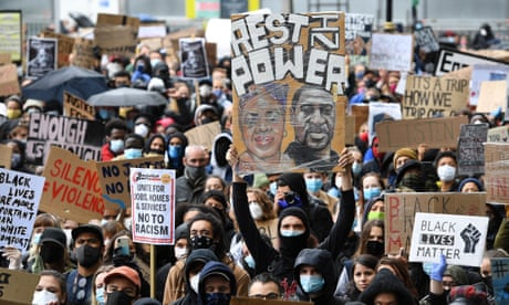 UK anti-racism protesters defy calls to avoid mass gatherings