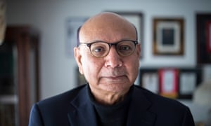 Khizr Khan at home in Charlottesville, Virginia.