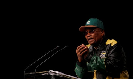 President Jacob Zuma, president of the ANC since 2007 and of South Africa since 2009.