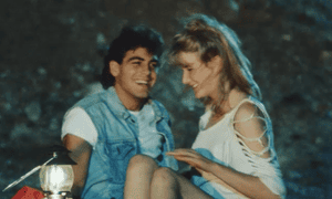 George Clooney and Laura Dern