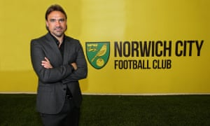 Daniel Farke has been appointed the new manager at Norwich.