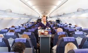Monarch Airlines air stewardess