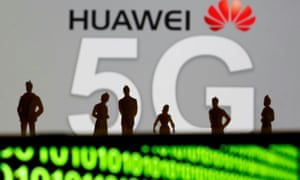 The US has told the British government it 'would be madness' to uuse Huawei technology.
