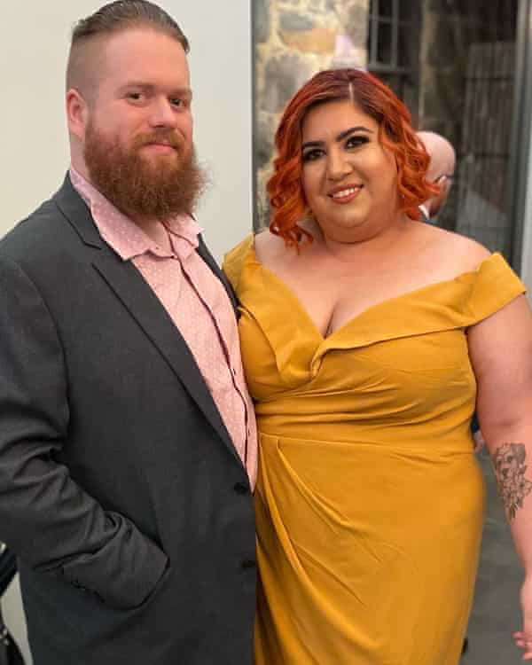 Emmaly Leggett and her husband