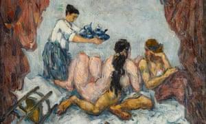Paul Cézanne's L'Après-Midi à Naples, 1876-1877.