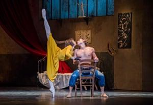 Tamara Rojo and Ivan Vasiliev in Le Jeune Homme et la Mort by English National Ballet