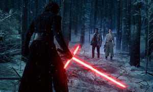 Wow, some lightsabre, Kylo Ren.
