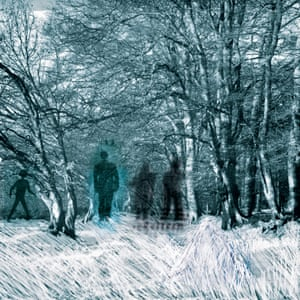 In the Woods, digital composition, 1996 by Stanley Donwood