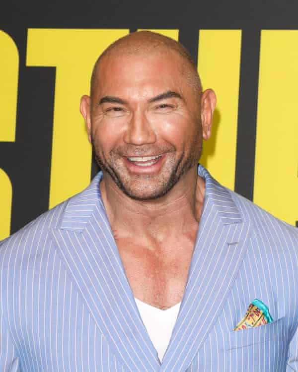 Dave Bautista in 2019. The actor plays Scott Ward in Army of the Dead.
