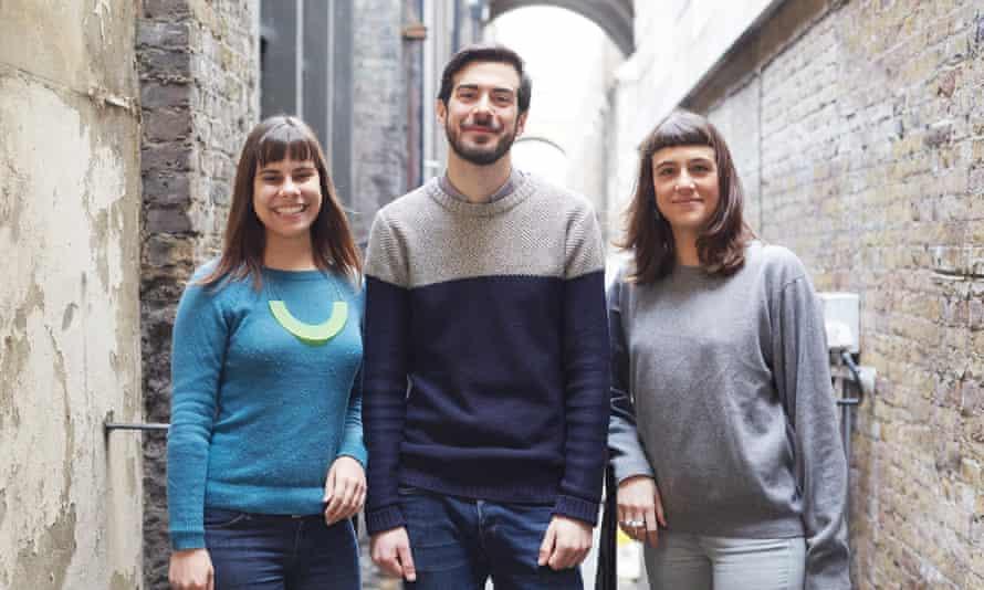 Laís de Almeida, Iban Benzal and Helena Trippe