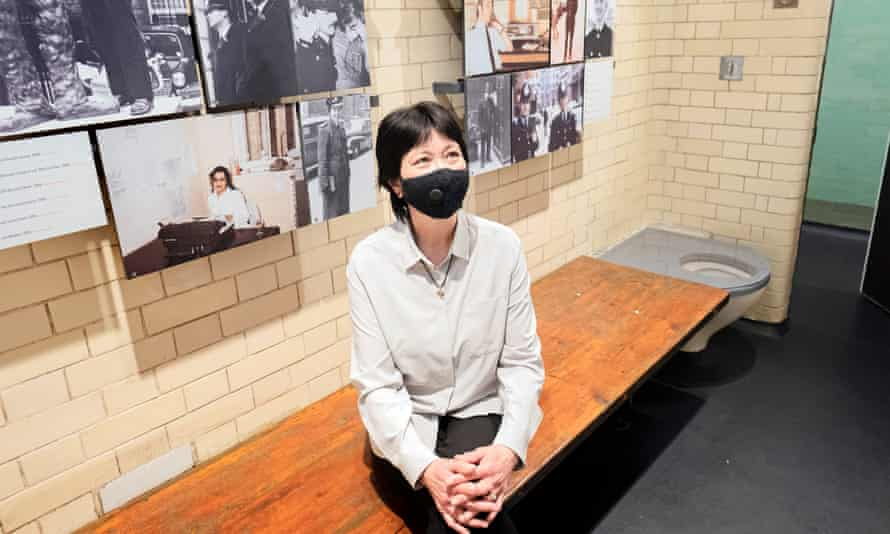 Lee-Jane Yates, who served as a WPC at Bow Street from 1982-85, looks around a cell in the new museum